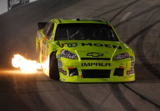Menard's past luck at Richmond doesn't bode well for Saturday night
