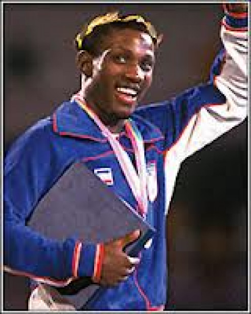 "Pernell "" Sweet Pea"" Whitaker won a gold medal in the 1984 Olympic games."