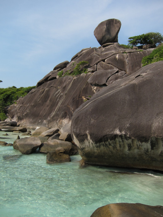 The Similan Islands By Ron Caswell