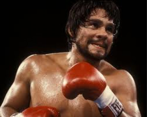 Roberto Duran terrorized the lightweight division throughout the 1970s destroying Ken Buchanan for the 135 pound championship.
