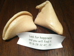 """Look for happiness and you will find it."""