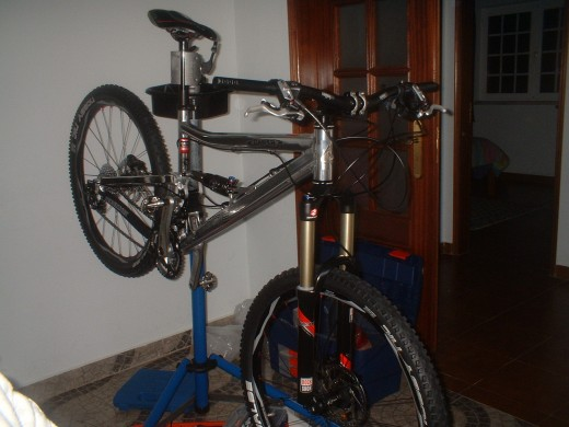 My new full suspension mountain bike
