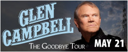 Popular country singer, Glen Campbell was forced to cut short his Goodbye Tour due to Alzheimer's disease.