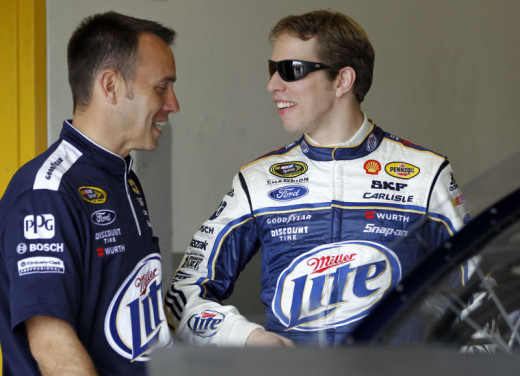 Keselowski and Wolfe won a title together last season