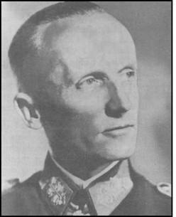 Fifth Panzer Army Commander - Gen. Hasso von Manteuffel.