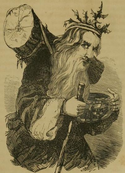 Father Christmas, Saint Nicholas, Santa Claus - whatever the name, this character was very different from the modern version.