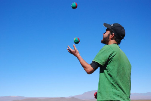 Juggle to Improve Your Memory