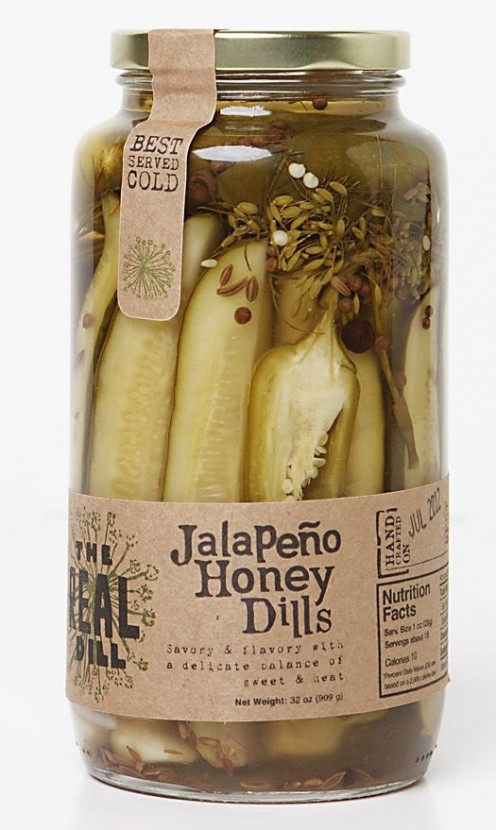 The Real Dill has the most unusual and interesting flavor combinations.