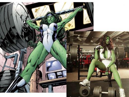 She-Hulk Costume