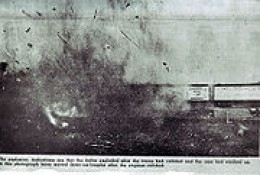 The Actual Explosion of the Boilers on the Two Locomotives