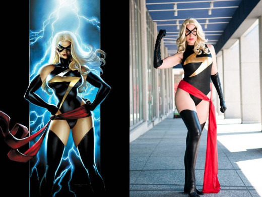 Ms. Marvel Costume History