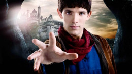 In the TV series Merlin, the character's original name is Emrys.