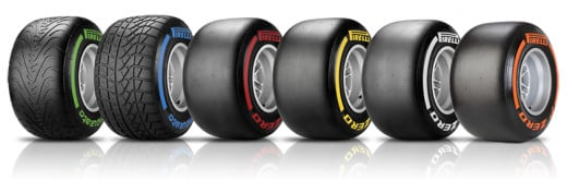 F1 teams must use multiple tire types over the course of a race, increasing the amount of strategy needed to win