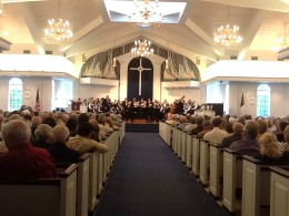 Naples United Church of Christ in Naples, FL where VON rehearses and performs.