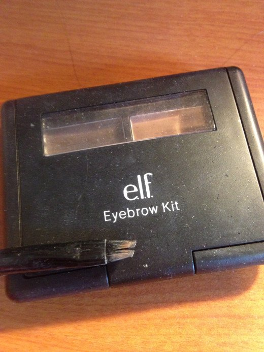 I use the elf eyebrow kit for this step, but you can use any pencil!