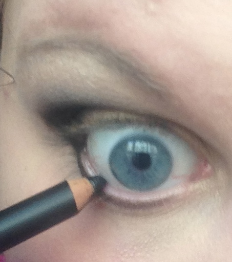 Step Two: Blow to cool and then apply to your waterline