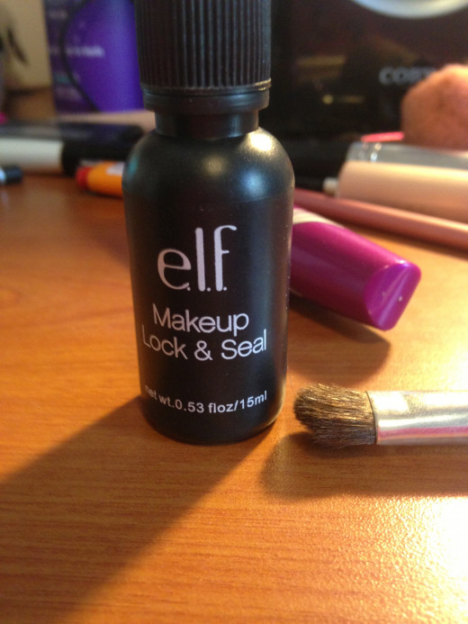 Step Seven: OPTIONAL: Elf makeup lock and seal