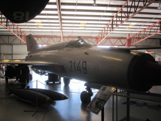 The MIG-21 was the main fighter of North Vietnam during the Vietnam War and was one of the opponents that the US faced.