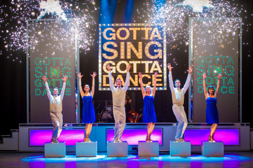 The fabulous 'Gotta Sing Gotta Dance' Tour 2013