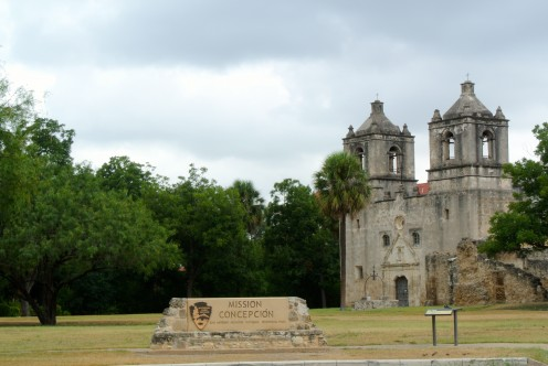 Mission Concepcion in San Antonio, Texas