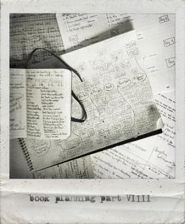 Book planning from Graham Holliday flickr.com