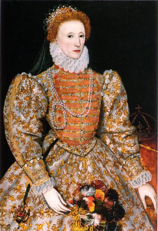 A representation of Elizabeth I