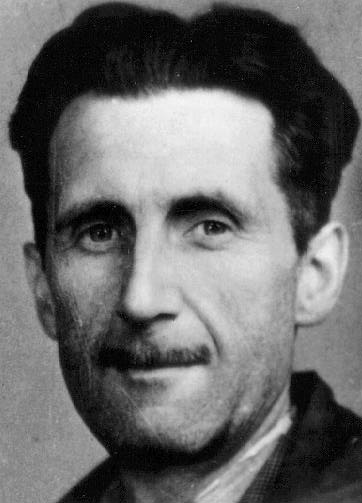 George Orwell, real name Eric Blair