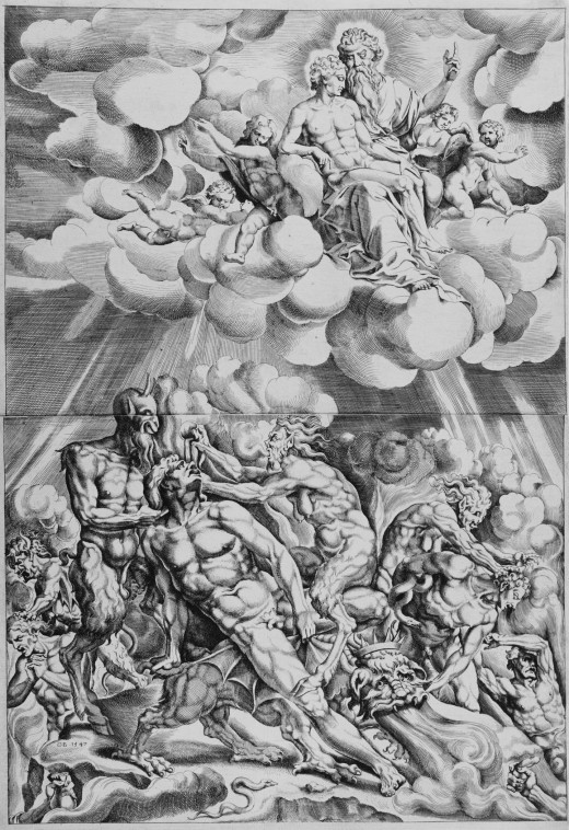 Lazarus in Heaven and the Rich Man in Hell