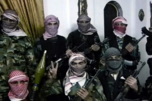 Terrorist rebels