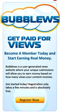 Bubblews Review & Impression: Exploitation versus Generosity