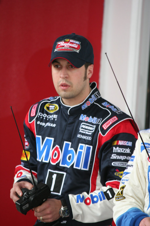 Sam Hornish Jr. moved over to NASCAR and has stuck with stock cars despite being demoted to Nationwide