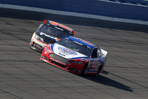 Logano's feud with Hamlin earlier this year nearly derailed both drivers' seasons