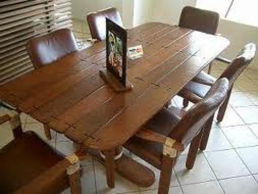 Coconut furniture