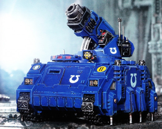 Space Marine Hunter Tank Review