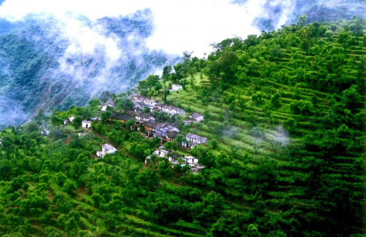 the scenic beauty of Uttarakhand before the calamity