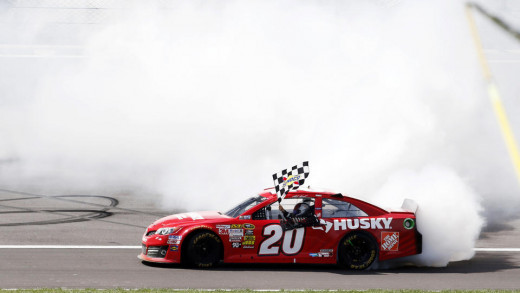 Kenseth led all drivers with five wins during NASCAR's regular season