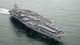 US warships take position off coast of Syria after use of chemical weapons on the Syrian people.