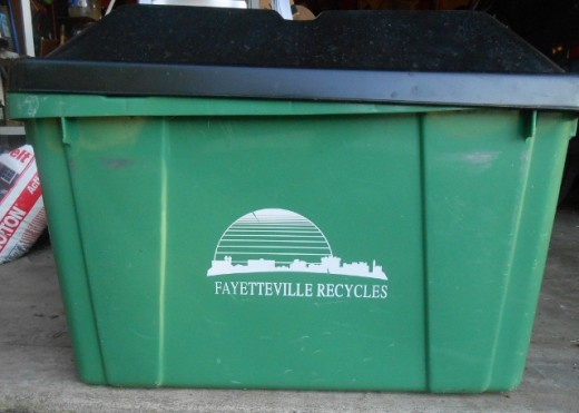 My city recycle bin