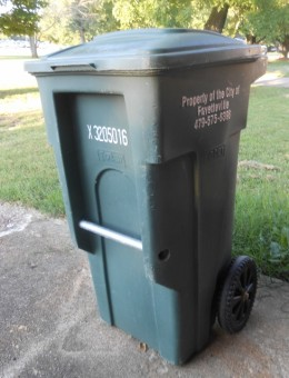 My city trash can