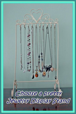 Find out how the right jewelry display stand can make choosing a necklace easy and provide safe and decorative storage for all your favorite pieces!