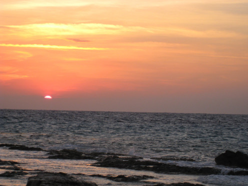 Watch a sunset! (Cozumel)