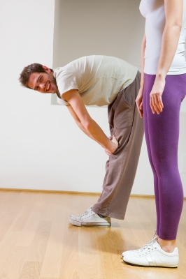 Even doing stretches each day can make you feel a little better.