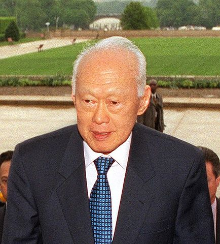 Lee Kuan Yew, first Prime Minister and founder of the Republic of Singapore