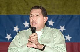 Hugo Chavez, populist leader of Venezuala from 1999 to 2013.