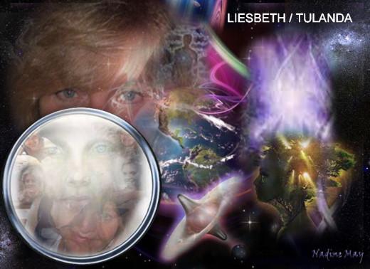 Liesbeth / Tulanda - Character in my novels as a walk-in