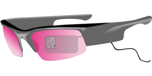 Google Glass may one day be an access point to online classes.