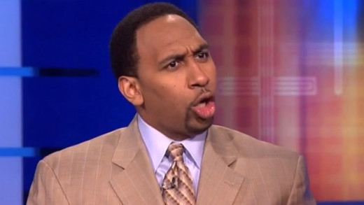 "My ""jump the shark"" moment for all this? Stephen A. Smith questioning someone's integrity"