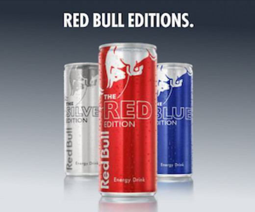 Red Bull Energy Drink - in editions.