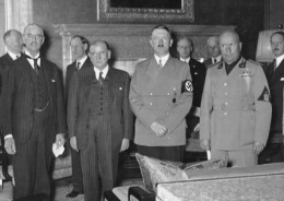The fake peace signing of 1938