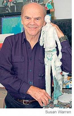 David Adickes creator of the presidential busts.